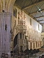 Église Saint-Martin d'Amblainville chaire 7.JPG