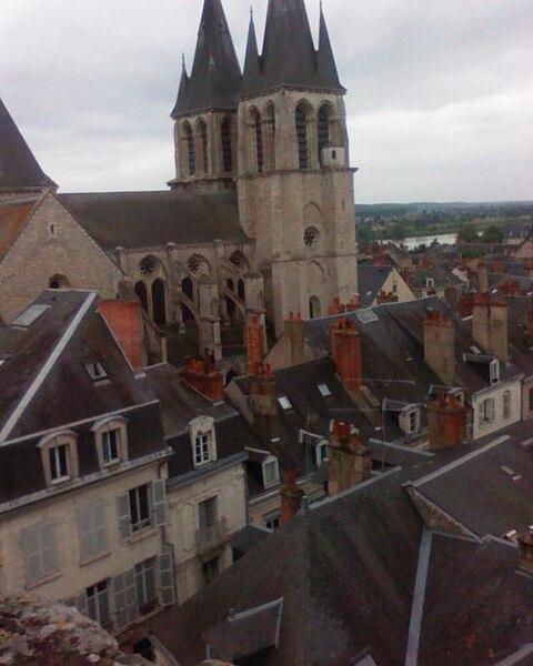 St. Nicholas Church in Blois