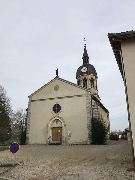 Église Saint-Julien de Condeissiat.