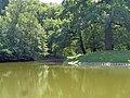 Łódź-reservoir in Źródliska Park.jpg