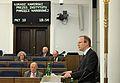 Łukasz Kamiński 37 posiedzenie Senatu VIII kadencji.JPG