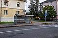 Ščarbakova street (Minsk) p02 — bus stop.jpg