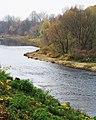 Бауска (Латвия) Река Мемеле (вниз по течению) - panoramio.jpg