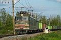 ВЛ10У-571, Russia, Saint Petersburg, Sapyornaya - Izhory stretch (Trainpix 62422).jpg