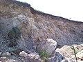 Верхівка Барський район Відслонення свити біля джерела Бровар 1.jpg