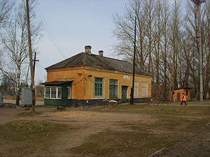 Gdov - Gdov railway station