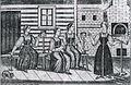 В крестьянской избе Лубок XIX.jpg