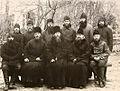 Епископ Иларион (Троицкий), Архиепископ Евгений (Зёрнов), епископ Прокопий (Титов) и священство на Соловках.jpg