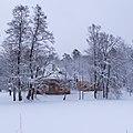 Зима в Сергиевке. Английский домик в снегу..jpg