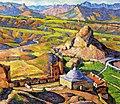 Машков И. И., Вид Генуэзской крепости в Судаке. 1917г.jpg