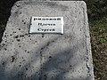 Надгробок. Рядовий Плечев Сергій. Братська могила. с. Старомайорське.jpg