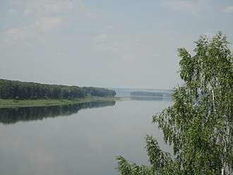 Yurginsky District, Kemerovo Oblast - Lower Tom River Nature Park