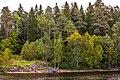 Никоновская бухта на Влаааме. Старая лодка на берегу.jpg