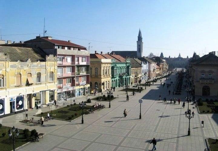 Пешачка улица у Сомбору - Pedestrian Street in Sombor