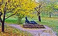 Пушкинские горы. Памятник А.С. Пушкину в Михайловском. - panoramio.jpg