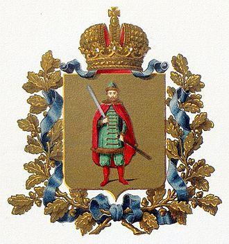Ryazan Governorate - Image: Рязанская губ МВД Бенке