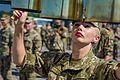 Тренування Нацгвадійців до параду військ з нагоди 25-ї річниці незалежності України IMG 0654 (28423245033).jpg