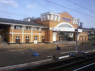 Tulun Town in Irkutsk Oblast, Russia