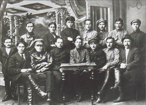 Bashkir Autonomous Soviet Socialist Republic - Members of the Bashkir government, 20 June 1920