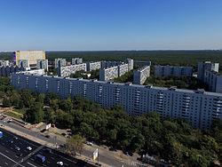 Skyline of Yaroslavsky縣