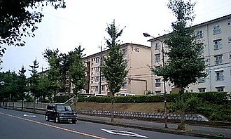 Shimōsa Plateau - Danchi housing complex, Abiko