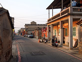Jinning, Kinmen - Image: 西堡村 Xibao Village 2015.01 panoramio