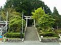 高野町東富貴 丹生神社の鳥居 2012.4.25 - panoramio.jpg