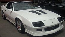 1988 camaro iroc z specs