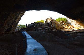 Franchthi Cave - Image: 023Σπήλαιο Φράχθι Ερμιονίδας