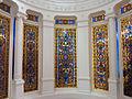 084 Casa Orlandai, escala noble, vitralls.JPG