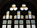 089 Hospital de Sant Pau, edifici d'Administració, vitrall de la sala d'actes.JPG