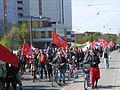 1. Mai 2013 in Hannover. Gute Arbeit. Sichere Rente. Soziales Europa. Umzug vom Freizeitheim Linden zum Klagesmarkt. Menschen und Aktivitäten (114).jpg