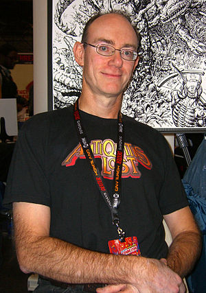 Geof Isherwood - Isherwood at the 2011 New York Comic Con.