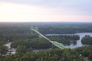 Thousand Islands - The Thousand Islands Bridge