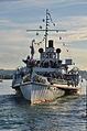 100 Jahre Dampfschiff Stadt Rapperwil - Hafenfest Rapperswil - 'Rosenempfang' 2014-05-23 19-44-29.JPG