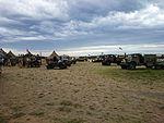 100 Years of ANZAC display at the 2015 Australian International Airshow 7.jpg