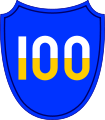 100th Infantry Division SSI.svg