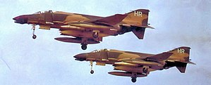 10th Flight Test Squadron - Image: 10th Tactical Fighter Squadron Mc Donnell F 4D 29 MC Phantom 65 0780 65 0781