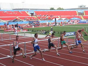 2009 European Athletics Junior Championships - 110m hurdles race (m)
