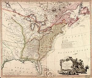 John Fraser (botanist) - United States of North America (William Faden 1793)