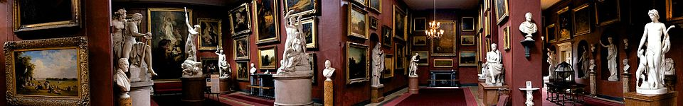 Art on display at Petworth House