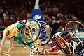 141100 - Wheelchair basketball Australia vs Canada accident - 3b - 2000 Sydney match photo.jpg