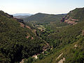 141 Sant Miquel del Fai, la vall del Tenes des del camí de l'Ermita.JPG