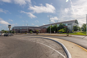 Campeche International Airport - Image: 15 07 15 Aeropuerto Internacional Ing Alberto Acuña Ongay Ralf R WMA 0907