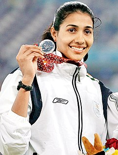 Anju Bobby George Indian athlete