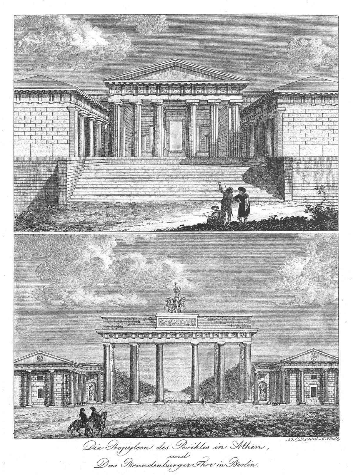 1795ca Johann-Carl-Richter Propyleen+Brandenburger-Tor.jpg