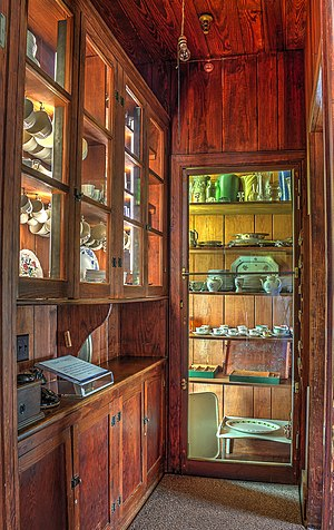 Pantry - Butler's Pantry at the Little White House