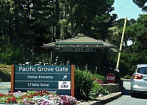 17-Mile Drive - Pacific Grove entrance