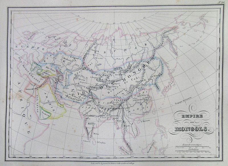File:1837 Malte-Brun Map of the Mongol Empire in Asia and Europe - Geographicus - AsiaMongol-mb-1837.jpg