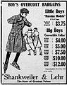1917 - Shankweiler & Lehr Newspaper Ad Allentown PA.jpg